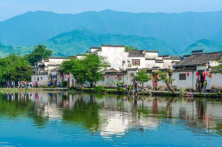 世界文化遗产安徽宏村图片