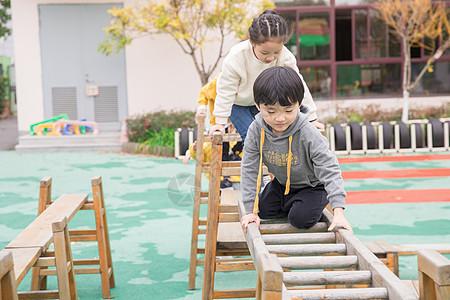 幼儿园儿童课间玩耍图片