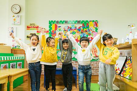 幼儿园教室可爱儿童图片