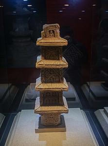西安博物馆唐朝四层佛窿图片