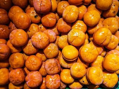 秋冬柿子图片