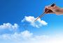 筷子下的云朵图片