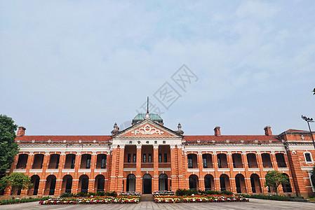 湖北鄂军都督府主楼全景图片