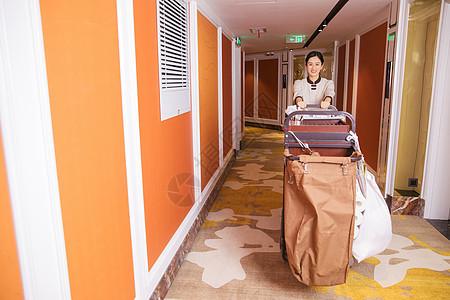 酒店宾馆客房保洁员图片