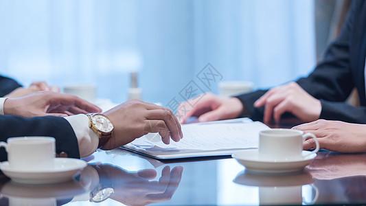 商务谈判图片