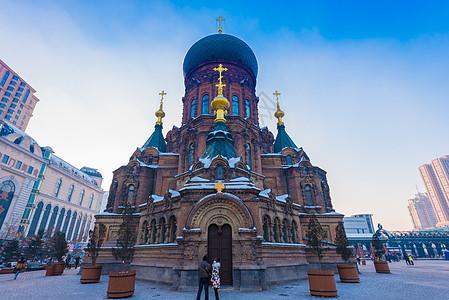 哈尔滨圣索菲亚教堂图片