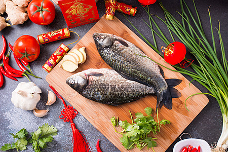 新鲜美味的鱼图片