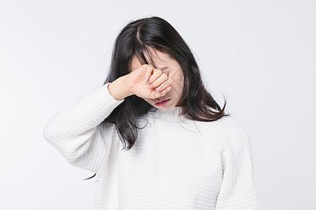 情绪低落青春期少女图片