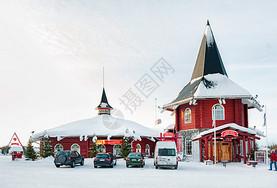 北欧芬兰洛瓦涅米圣诞老人村图片