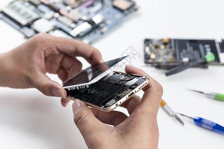 维修手机图片