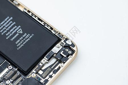 手机内部芯片图片