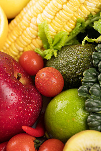 新鲜果蔬组合图片