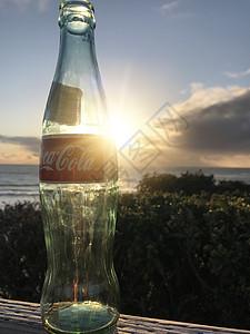 美国太平洋落日饮料玻璃瓶图片