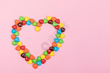 情人节心形糖果巧克力图片