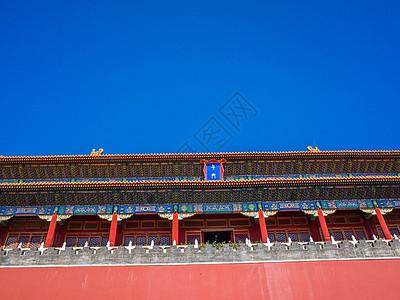 北京故宫午门图片