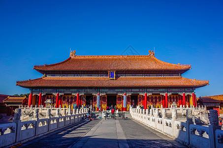 北京故宫皇极殿图片