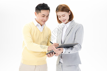房产销售中介签合同图片