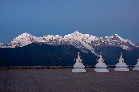 云南丽江玉龙雪山风景区图片
