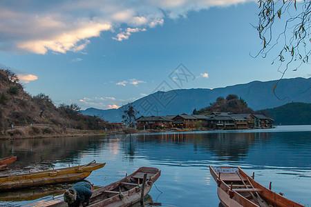 四川泸沽湖风景区图片