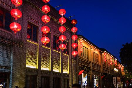 福州三坊七巷红灯笼图片