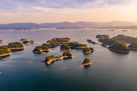 杭州千岛湖美丽的自然风光图片