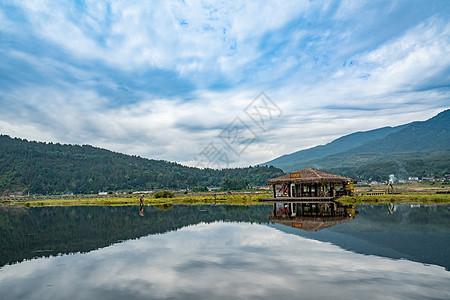 云南腾冲北海湿地自然风光图片