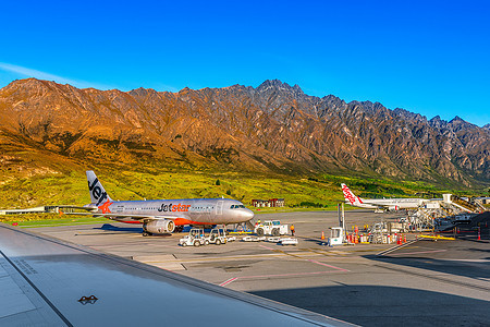 新西兰机场风光图片