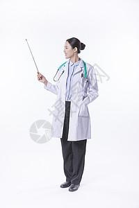 手拿指挥棒的医生图片