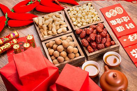 春节年货茶礼年货图片