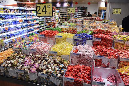 超市年货糖果图片