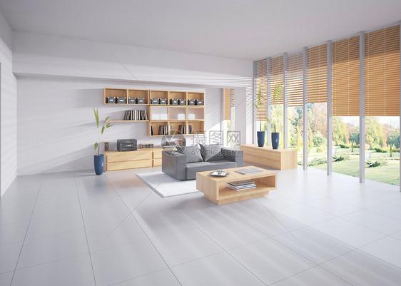 现代客厅场景图片