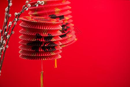 春节挂灯笼图片