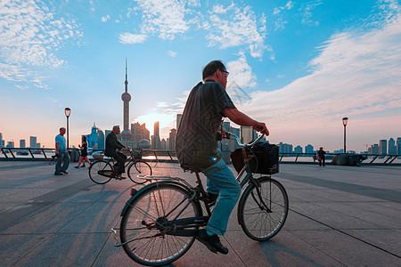 上海外滩清晨图片