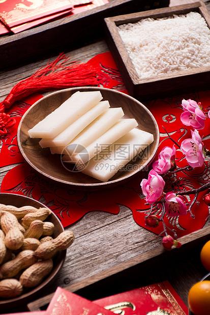 新春年货年糕图片