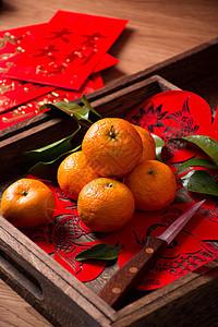 新春水果橘子图片