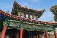 西安碑林博物馆外景图片
