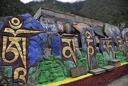 四川川西藏区壤塘县曾克寺图片