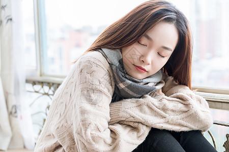 女性冬季保暖图片