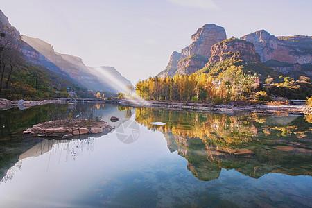 林州大峡谷桃花谷图片