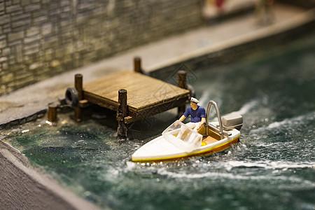 快艇模型图片