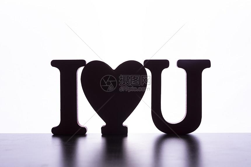 情人节字母图片