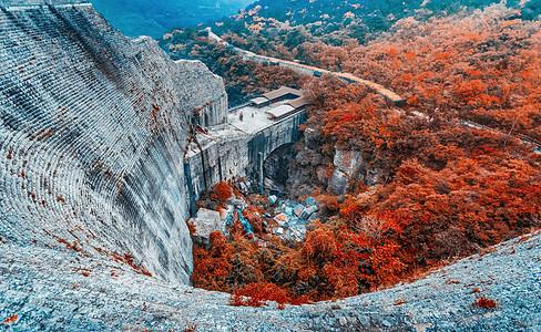 云台山秋季风景图片