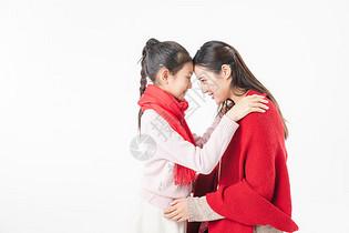 新春母女图片