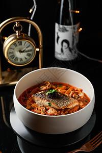 鳕鱼海鲜汤图片