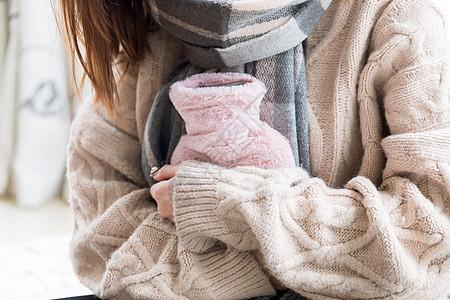 居家女性保暖图片