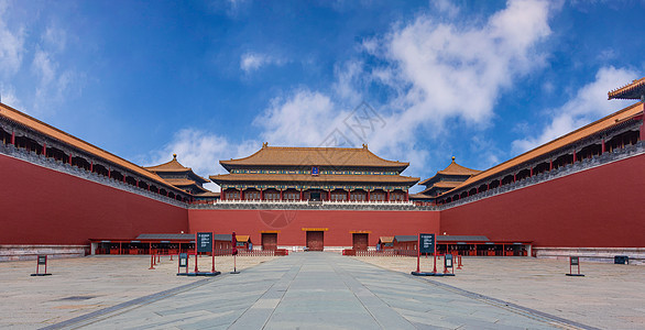 北京故宫午门全景图片