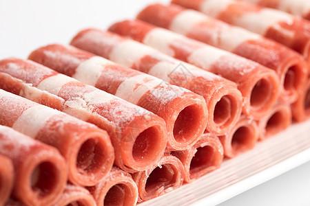 羊肉卷食材图片
