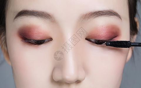 美女眼部彩妆图片