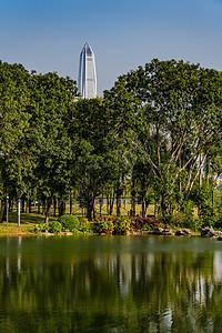 深圳香蜜公园之湖图片