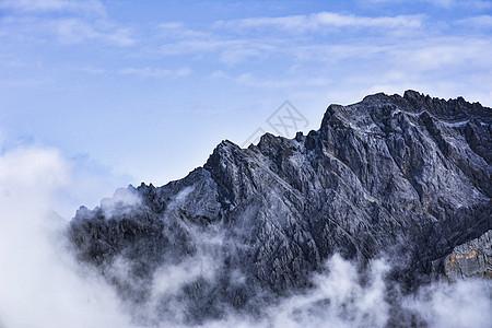 玉龙雪山风景照图片